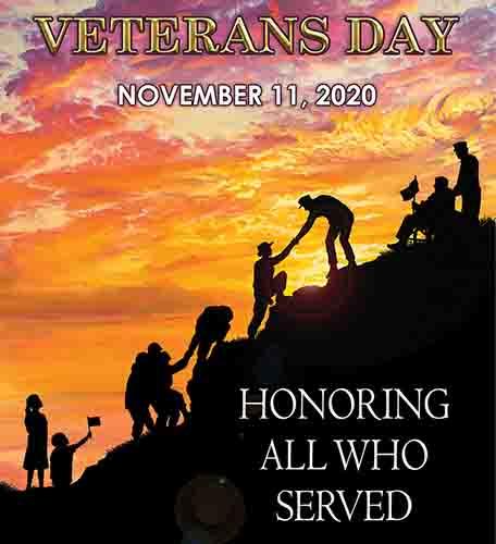 Veteran's Day November 11 2020 United Relief Foundation