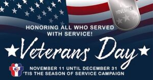Honoring those who served with service