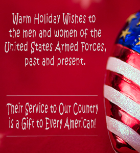 United Relief Foundation holiday wishes for veterans