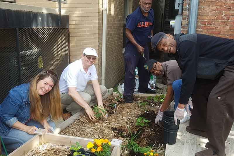 Horticultural Holistic Healing Program United Relief Foundation