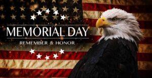 Memorial Day Remember Honor
