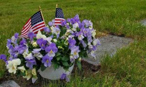 Memorial Day Remember and Honor Flags Flowers United Relief Foundation