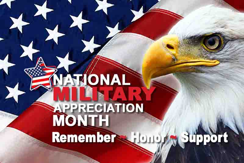 National Military Appreciation Month United Relief Foundation