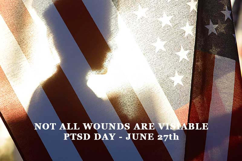PTSD Day Not All Wound Are Visiable United Relief Foundation