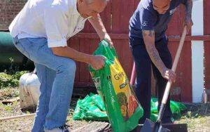 United Relief Foundation Eddie Beard Vet House Brian Urbanowski and Cheyenne Riley