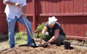 United Relief Foundation Eddie Beard Vet House planting Konni Vukelic