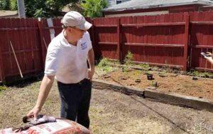 United Relief Foundation Eddie Beard Vet House preparation Frank Salato