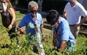 United Relief Foundation EBVH Project visit by National Women Veterans United
